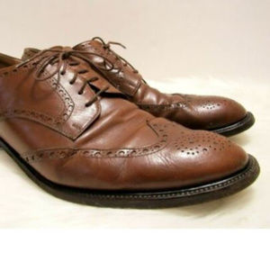 Quercioli Firenze Soft Italian Leather Wing Tips
